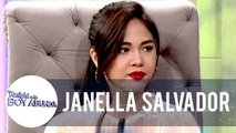 Janella talks about her experience working with Joshua Garcia | TWBA