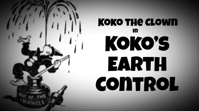 "Koko the Clown in "" Koko's Earth Control"" (1928)"