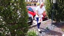 """Opération """"ramassage de mégots"""" dans les rues de Vesoul"""