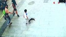 Un enfant tombe dans un égout à cause d'une plaque mal refermée !