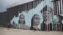 A Tijuana, un mur entre Mexique et États-Unis chargé d'émotions