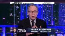 Alan Dershowitz On Allegations 'Totally False'  msnbc