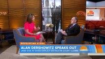 Alan Dershowitz Strongly Denies Sex Slave Scandal  TODAY