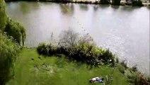 J'ai testé pour vous la tyrolienne du plan d'eau de Metz