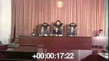 Trial of those responsible for the Chernobyl accident. Causes. 1987. July.