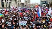 Moscou : record de mobilisation pour la manifestation de samedi
