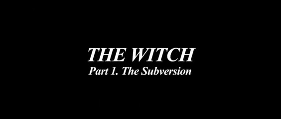 THE WITCH - PART1 - THE SUBVERSION (2018) Trailer VOST-ENG - KOREAN