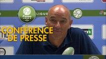 Conférence de presse ESTAC Troyes - Havre AC (1-2) : Laurent BATLLES (ESTAC) - Paul LE GUEN (HAC) - 2019/2020