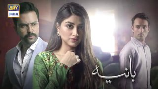 Hania Ep 24  10th August 2019  ARY Digital Drama