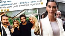 Brody Jenner Disses Kim Kardashian on Instagram