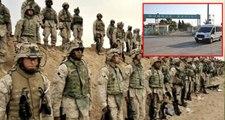 Güvenli Bölge kapsamında Türkiye'ye gelen ABD'li heyet, sınırda incelemede bulundu