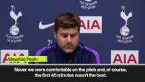 "(Subtitled) ""We fully deserved the victory,"" says Pochettino after Spurs beat Aston Villa 3-1"