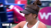 Bianca Andreescu beats Sofia Kenin to reach the Rogers Cup final in her home town