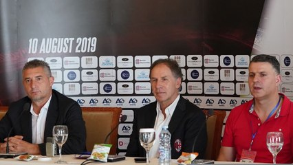 Feronikeli vs AC Milan: Baresi and Massaro's press conference
