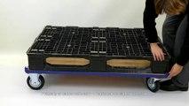 RUEDAS Para Muebles - Plataforma europalet con ruedas