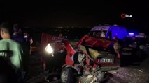 Çubuk'ta zincirleme trafik kazası: 1 ölü, 2 yaralı