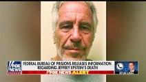 FBI investigating incidents surrounding Epstein's apparent suicide