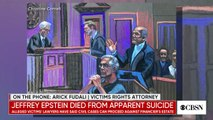 Jeffrey Epstein accuser _angry as hell_ he died before trial