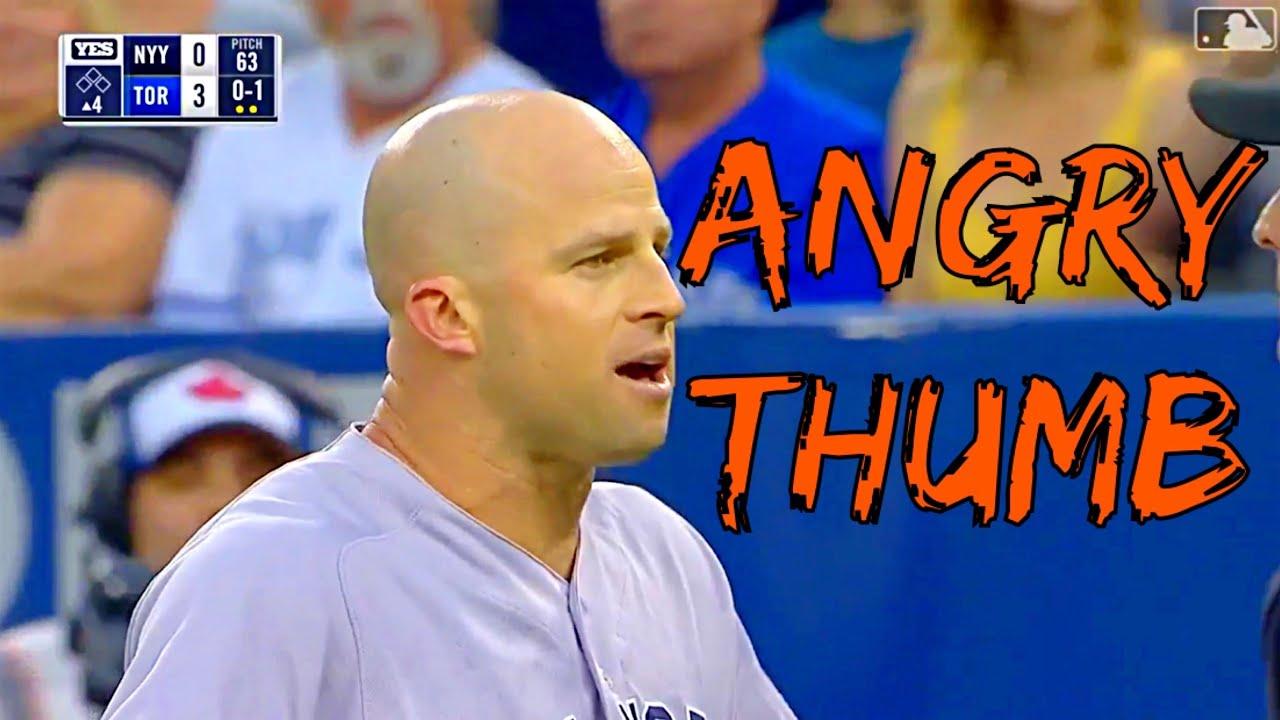 MLB's Angry Thumb