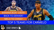 The Top 5 Teams That Could Sign Carmelo Anthony For The 2019-20 NBA Season