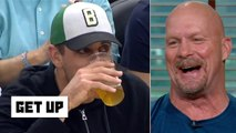 Stone Cold gives Aaron Rodgers' beer-chugging a C+ _ Get Up