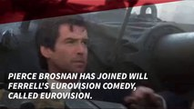 Pierce Brosnan Meets With Will Ferrell For New Comedy