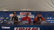 Racer X Films: 450 Press Conference | 2019 Unadilla National Motocross
