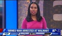 Nouveau massacre elude aux USA - Un homme armé dun fusil et dun gilet pare-balles arrêté alors quil entrait dans un supermarché Walmart dans le Missouri