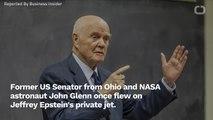 John Glenn Passenger On Jeffrey Epstein's Jet In 1996