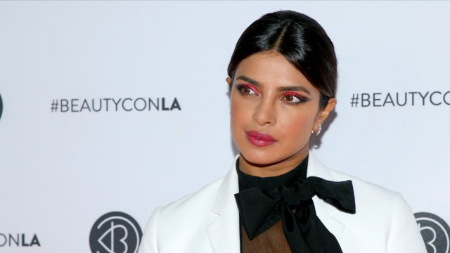 Priyanka Chopra Shows Off Neon Pink Eye Look At Los Angeles Beautycon