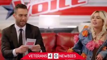 Miley Cyrus & Adam Levine on The Voice 12 - Funny Moments Part 2