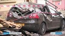 Tornade au Luxembourg : des dégâts considérables