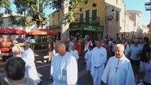 Procession de Saint-Laurent le 10 août à Saint-Laurent d'Aigouze
