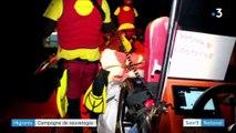 Migrants : les sauvetages en mer s'intensifient