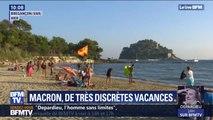 Avant une rentrée chargée, Emmanuel Macron passe de très discrètes vacances au Fort de Brégançon