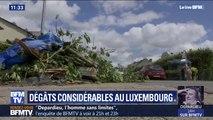 Luxembourg: après la tornade, la commune de Bascharage constate les dégâts