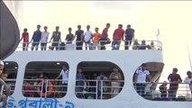 Éxodo en Bangladés para celebrar el Eid al-Adha, la mayor festividad musulmana