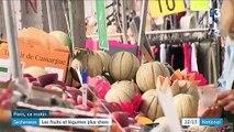 Sécheresse : les fruits et légumes sont plus chers