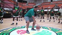Toronto Raptors president Masai Ujiri hosts youth basketball camp in Cameroon