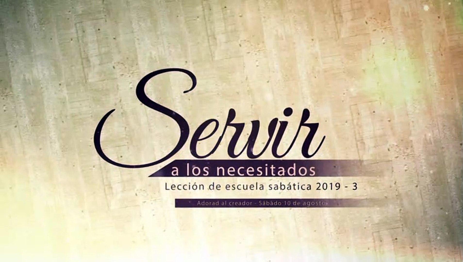Lección 7: Sábado: Jesús y los necesitados - Servir a los necesitados