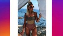 Kelly Vedovelli se fait critiquer sur son poids après avoir posté une photo d'elle en maillot de bain