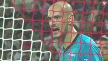 Rémy Riou Homme du match lors de AC Ajaccio - SMCaen