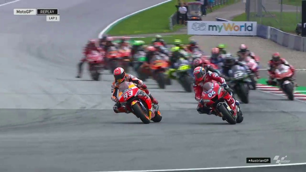 Full Race MotoGP Red Bull Ring - Spielberg Austria 2019
