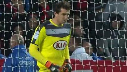 22/11/15 : SRFC-FCGB : penalty manqué Sio (90'+7)