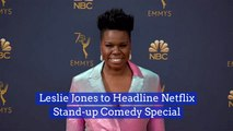 Leslie Jones Brings More Funny To Netflix