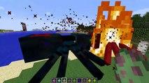 Minecraft SPIDER MOD  FIGHT OFF EVIL GIANT SPIDERS AND SURVIVE THE QUEEN SPIDER!! Minecraft