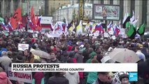 Russia: Moscow election protest attracts huge crowd