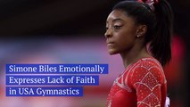 Simone Biles Is Disheartened By USA Gymnastics