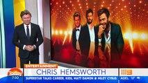 Chris Hemsworth talks Miley Cyrus, kids, and his new bromance