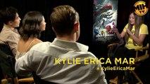 Dacre Montgomery, Naomi Scott & Ludi Lin Power Rangers Interview